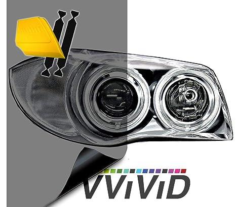 Amazon.com: Envoltura VViViD de matiz de vinilo para luces ...