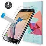 Samsung Galaxy S7 Panzerglas Schutzfolie, ONSON [3 Stück] Displayschutzfolie für Galaxy S7 Panzerfolie Displayschutz Gehärtetem Glass 9H Härtegrad, Anti-Kratzen, Einfaches Anbringen