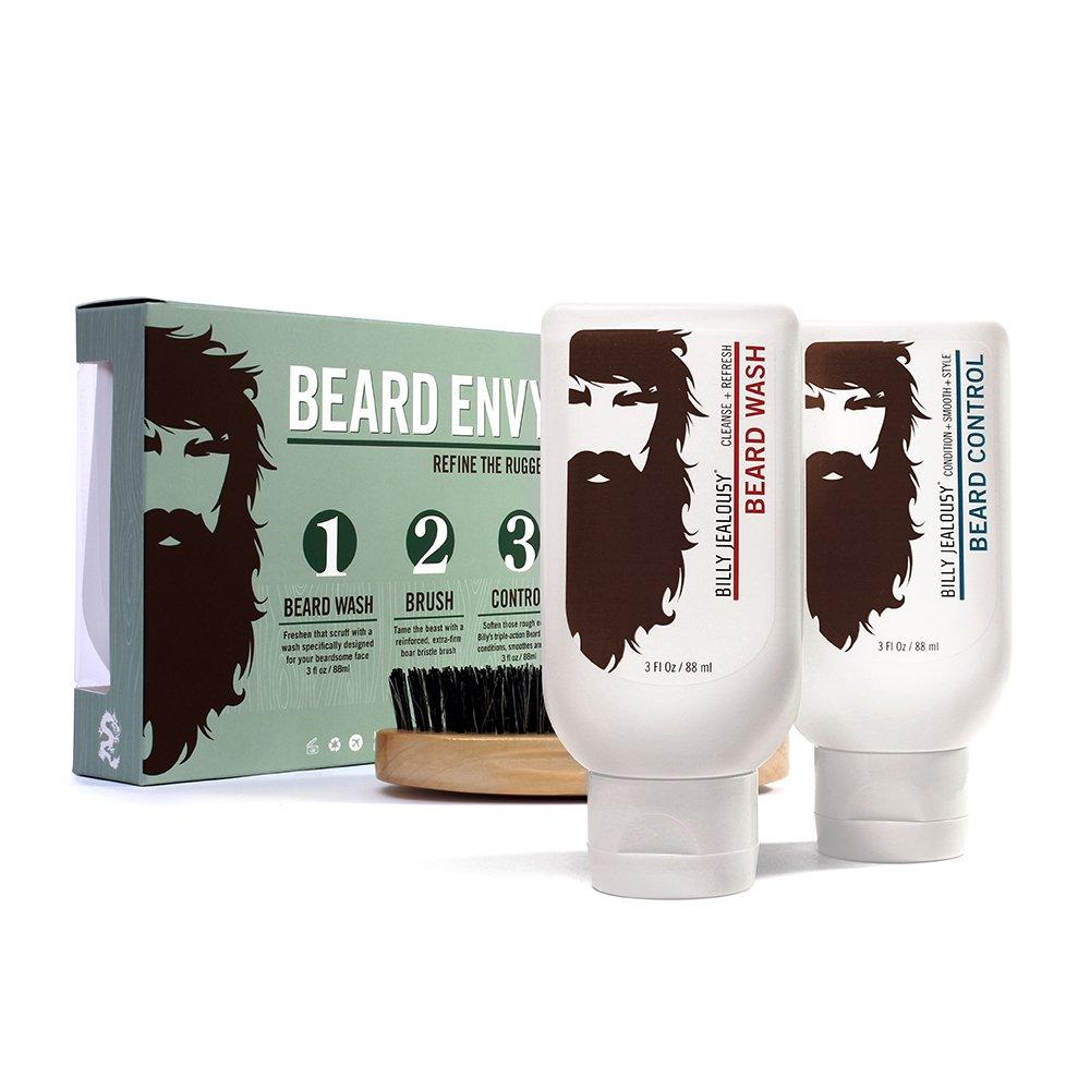 Amazoncom Billy Jealousy Beard Envy Kit