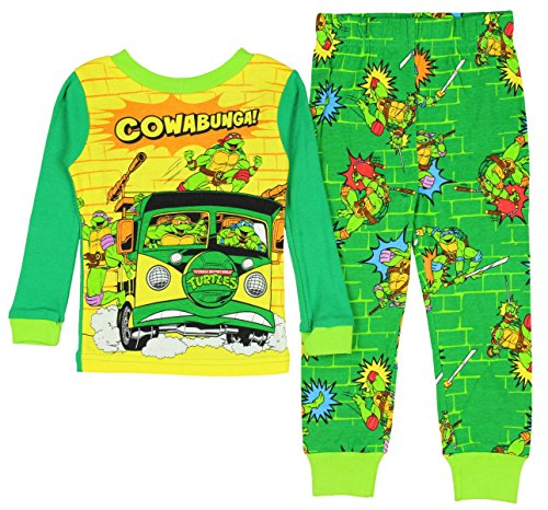 Teenage Mutant Ninja Turtles Cowabunga! Baby Boys Cotton Pajama Set (24M)
