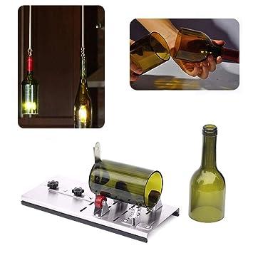 RUNGAO Máquina de cortar botellas de cristal para hacer vasos, kit de herramientas de corte