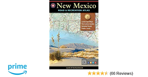 New Mexico Benchmark Road Recreation Atlas National Geographic