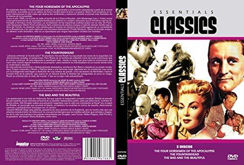 Los 4 jinetes del Apocalipsis The Four Horsemen of Apocalypse + El Manantial The Fountainhead + Cautivos del Mal The Bad and the Beautiful 3 DVD Pack Español and English: Amazon.es: Cine