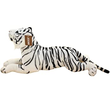 Amazon Com Jesonn Realistic Stuffed Animals Grovel Tiger Plush Toys