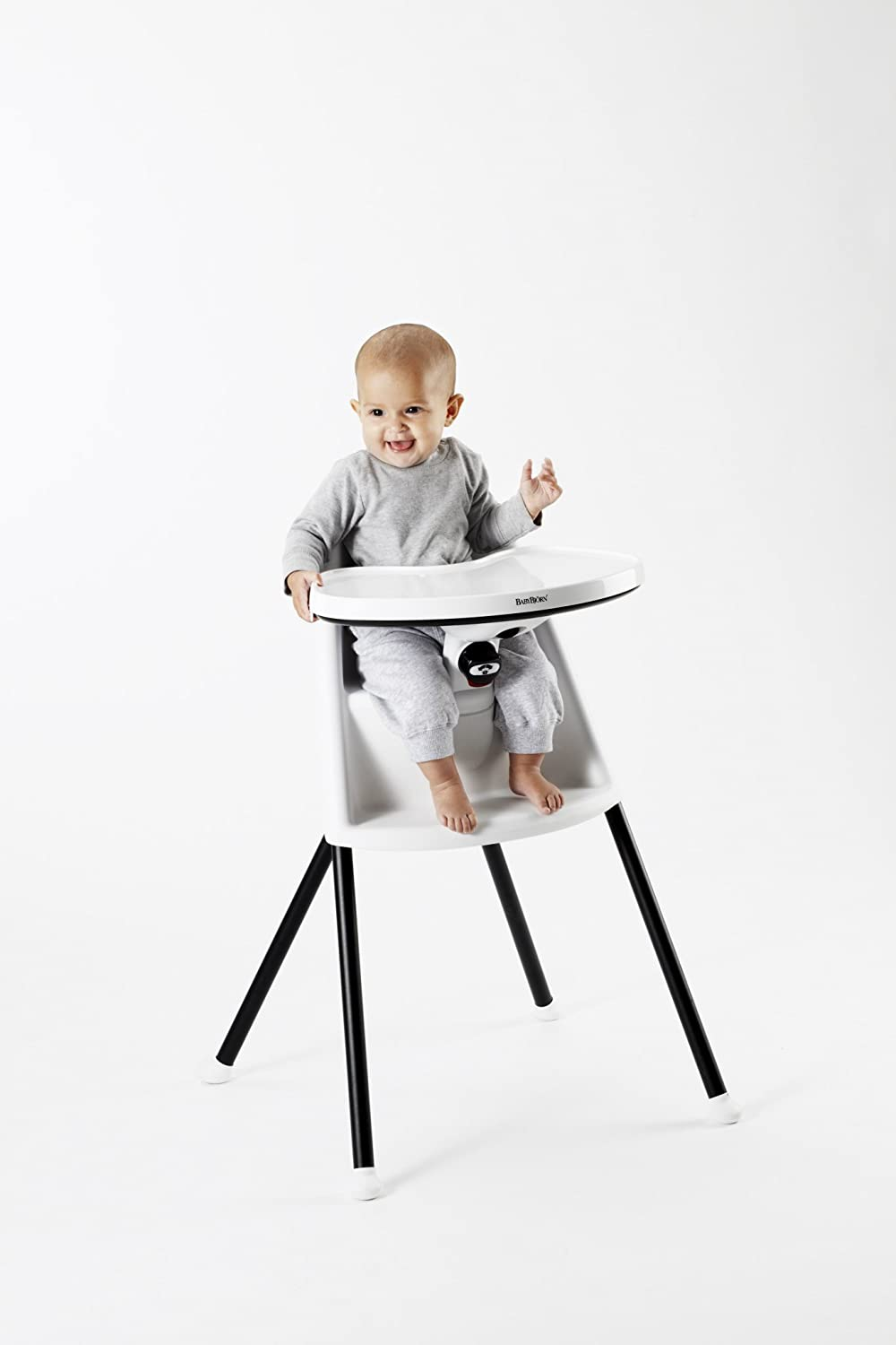 4f38971bb83 Amazon.com   BABYBJORN High Chair - White   Childrens Highchairs   Baby