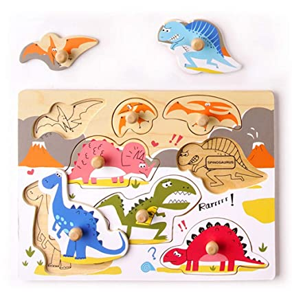 Children Kids Baby Infant Early Childhood Education Puzzle Hands Grab Board Game
