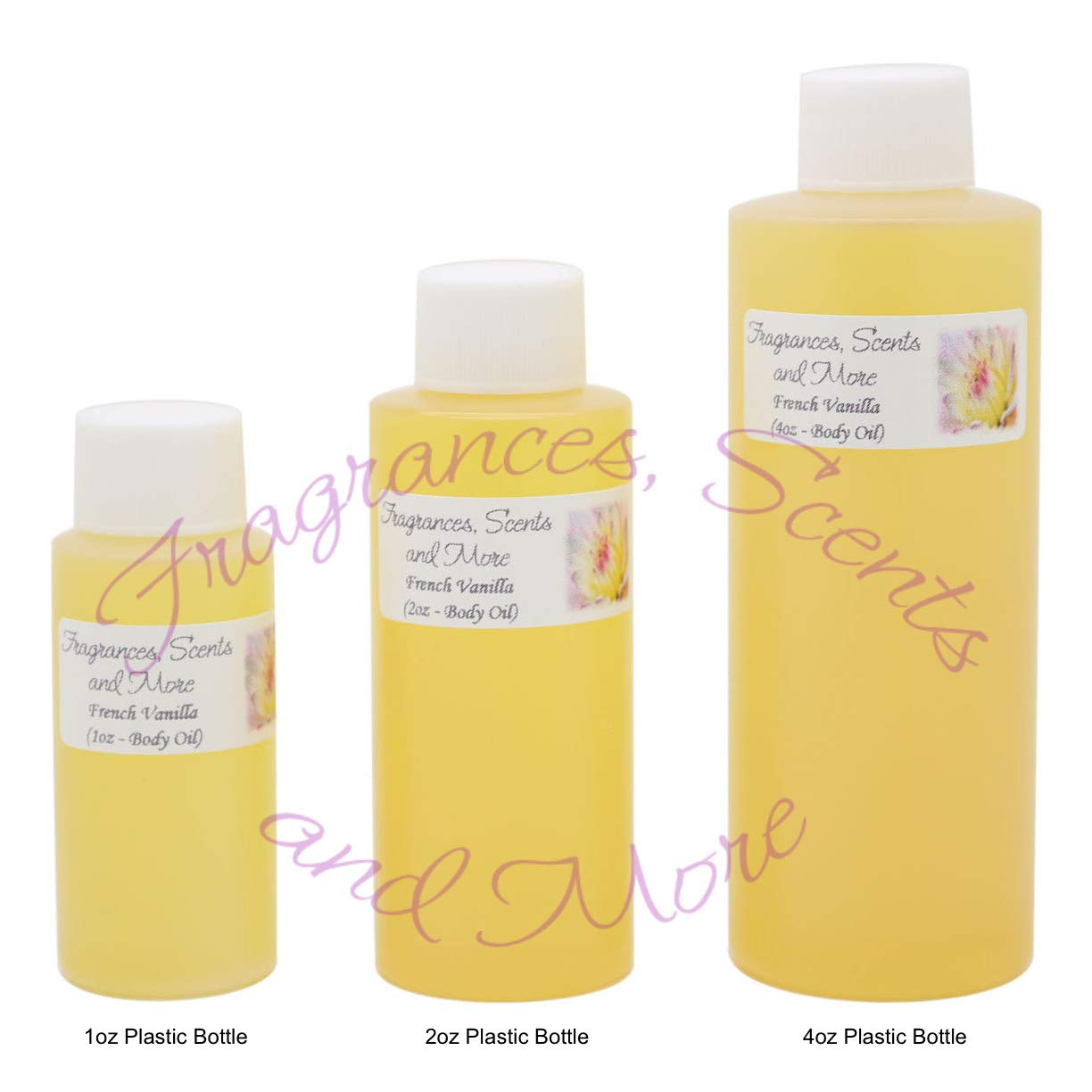 French Vanilla Perfume/Body Oil (7 Sizes) - Free Shipping (16oz Plastic Bottle (480ml))