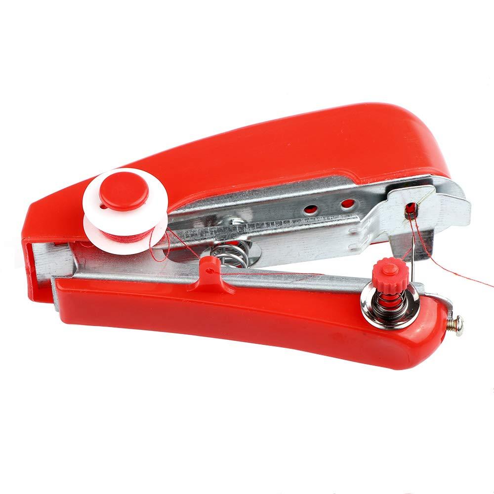 ONEVER M/áquina de coser port/átil Mini m/áquina de coser port/átil