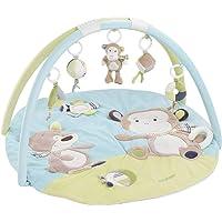 Fehn 3-D-Activity-Örtü Teddy - 5 Çıkarılabilir Oyuncaklı Oyuncak Kemeri Bebekler için Oyun & Eğlence Doğumdan maymun