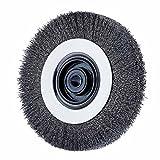 Advance Brush 81477 8'' Ez Mount Wire Wheel .008 Cs Wire