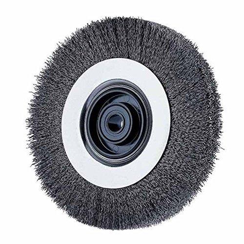 Advance Brush 81477 8'' Ez Mount Wire Wheel .008 Cs Wire by Advance Brush (Image #1)