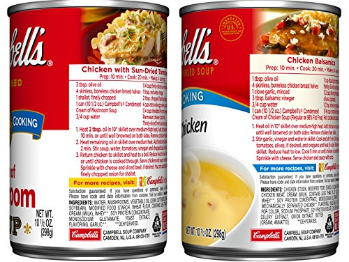 Large Product Image of Campbell's Condensed Soup, Variety Pack, 10.5 Ounce (Pack of 6)