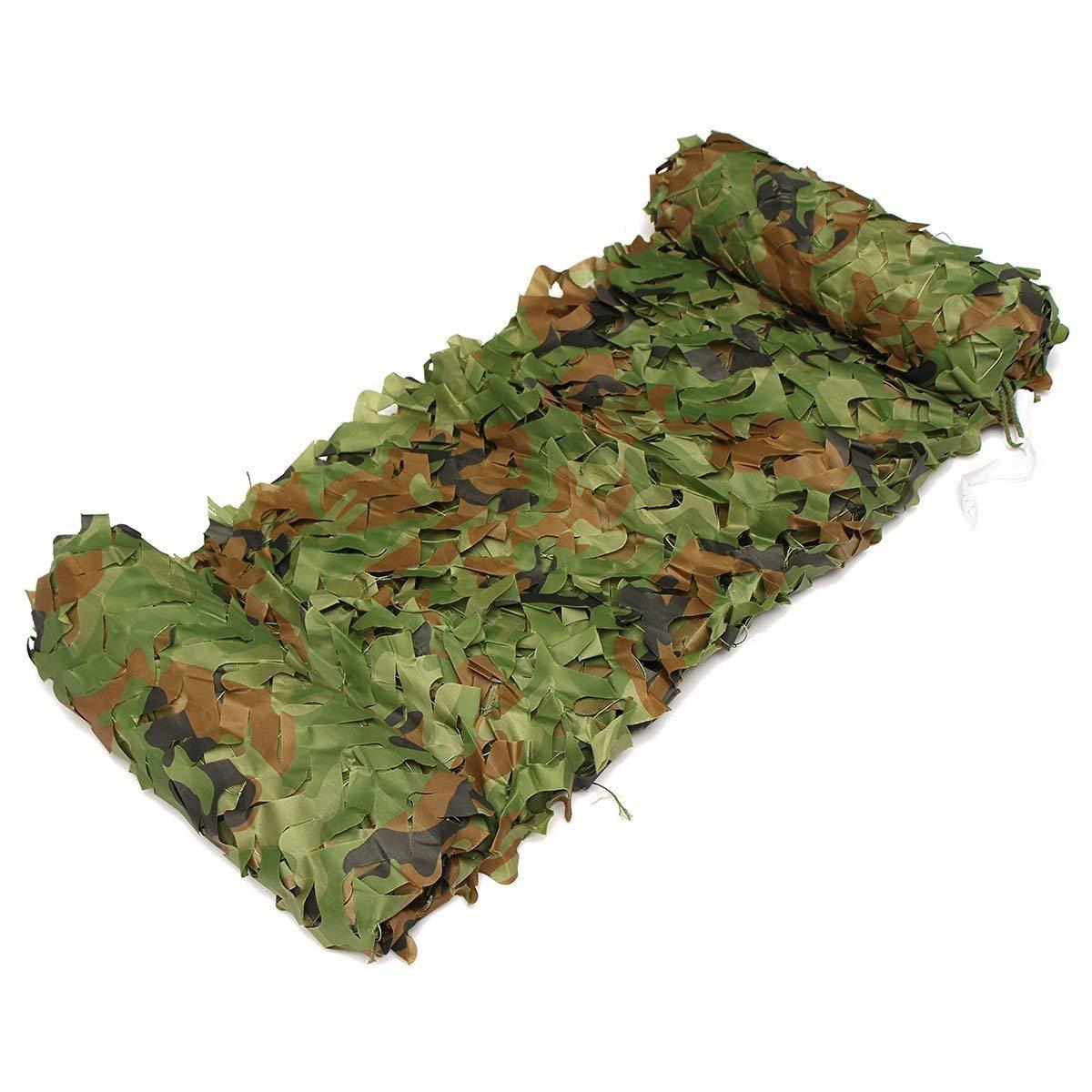 TTW Filet de Camouflage en Tissu Oxford imperméable, caché dans la Jungle, 2 × 3M (Couleur   5M×10M) 5m×10m -