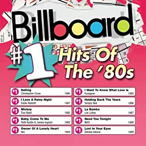 Billboard #1 Hits of the 80's