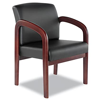 amazon com leather reception guest chair reception room chairs