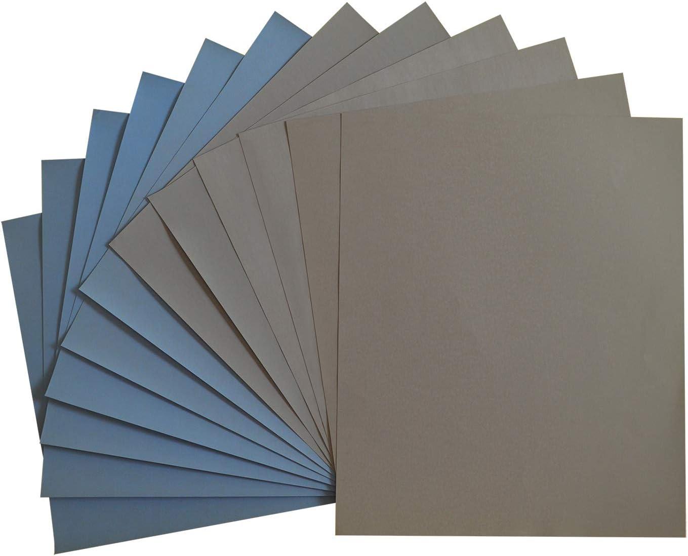 LANHU High Precision Polishing Sanding Wet/dry Abrasive Sandpaper Sheets