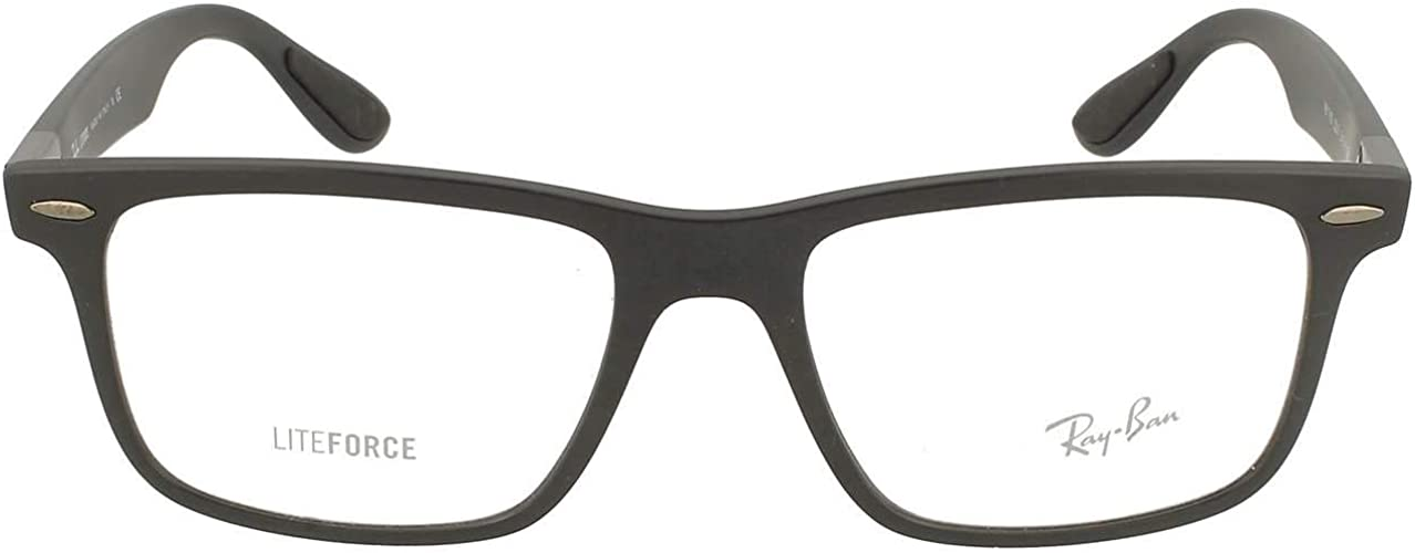 Amazon.com: Ray-Ban RX7165 gafas, Negro, 54 mm: Shoes
