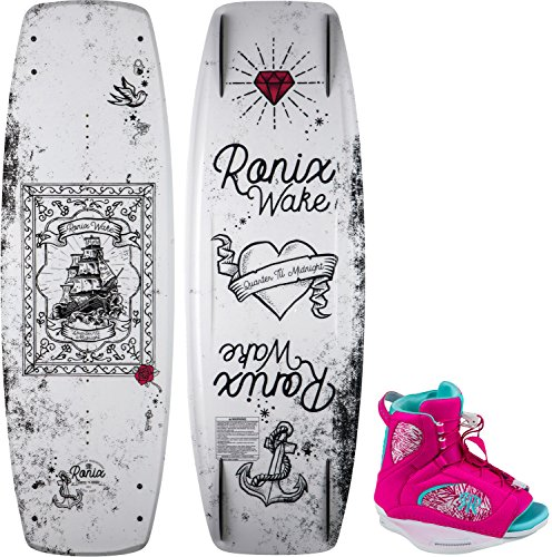 Used, Ronix 2018 Quarter 'Till Midnight Wakeboard - 134CM for sale  Delivered anywhere in USA