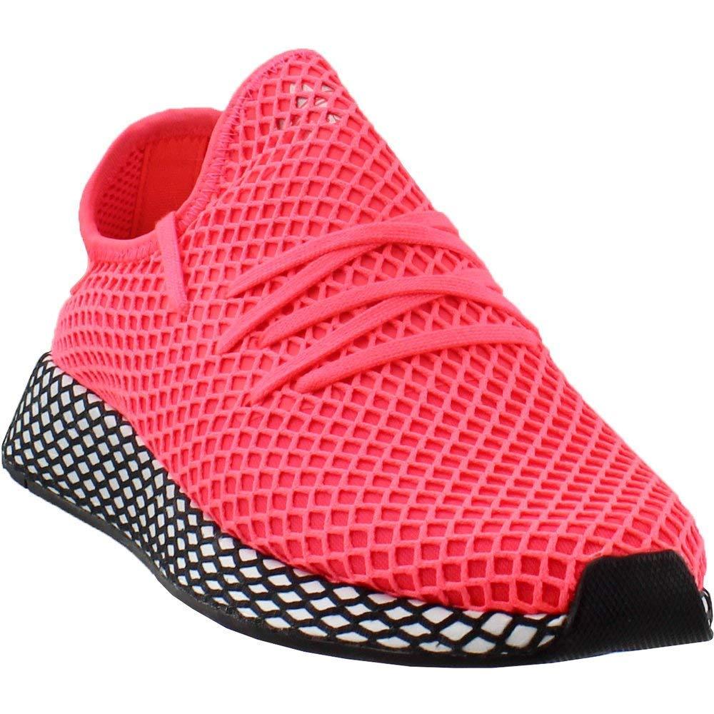 adidas Originals Deerupt Runner Shoe - Men's Casual 5 Turbo/Black by adidas