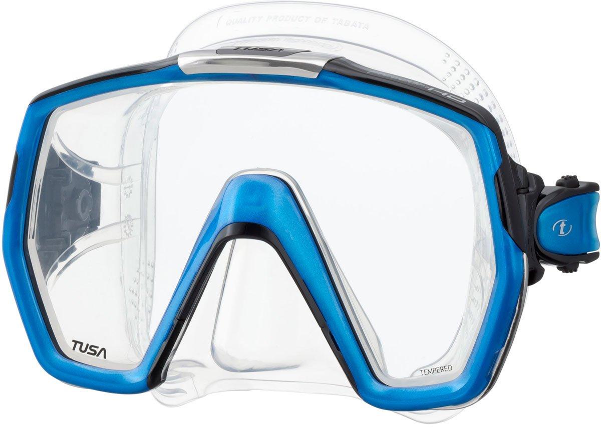 TUSA M-1001 Freedom HD Scuba Diving Mask, Fishtail Blue