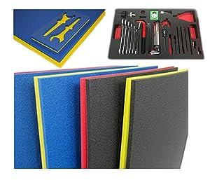 5S Tool Box Shadow Foam Organizers (2 Color) Custom Size (18