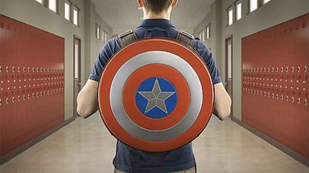 Marvel Avengers: Age of Ultron Captain America Shield Backpack by Marvel
