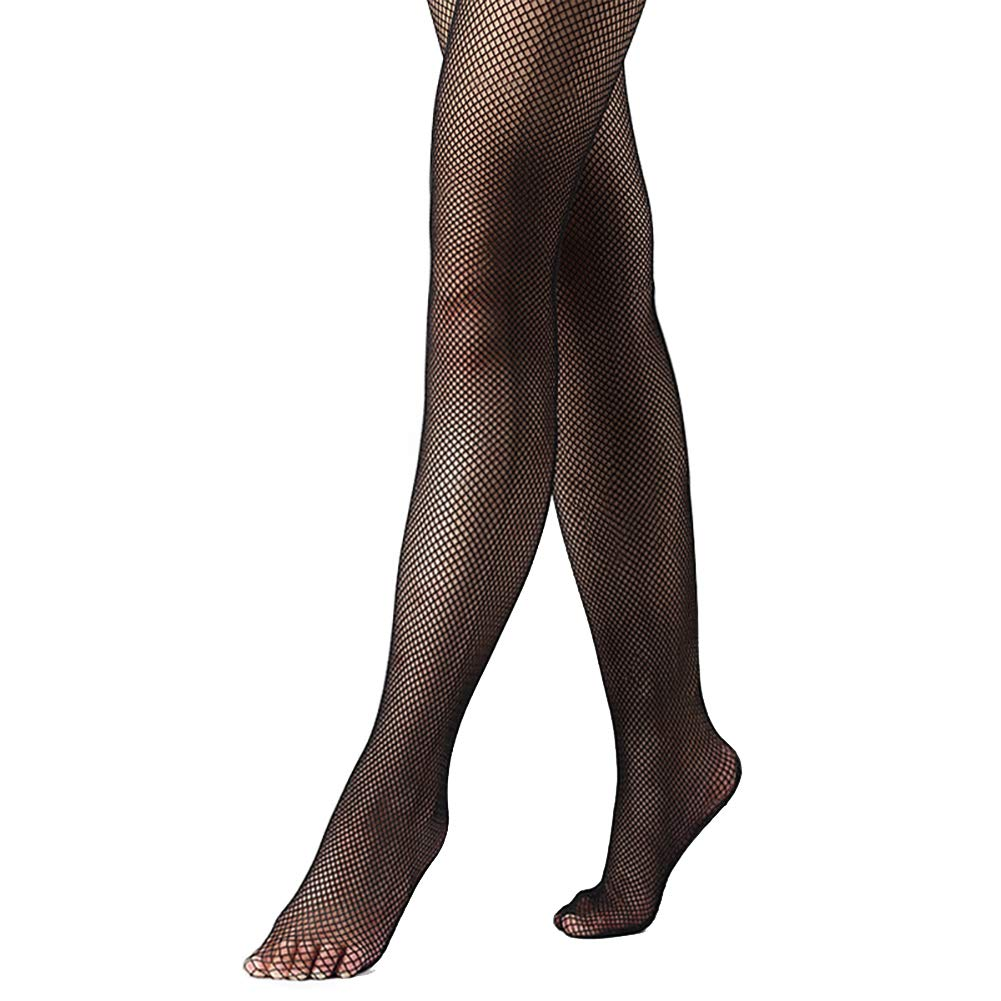 DANCEYOU Profesional Calcetines de Rejilla Medias Pantimedias Fishnet Tights Baile Pantyhose Cubrir le pie para Ni/ña y Mujer