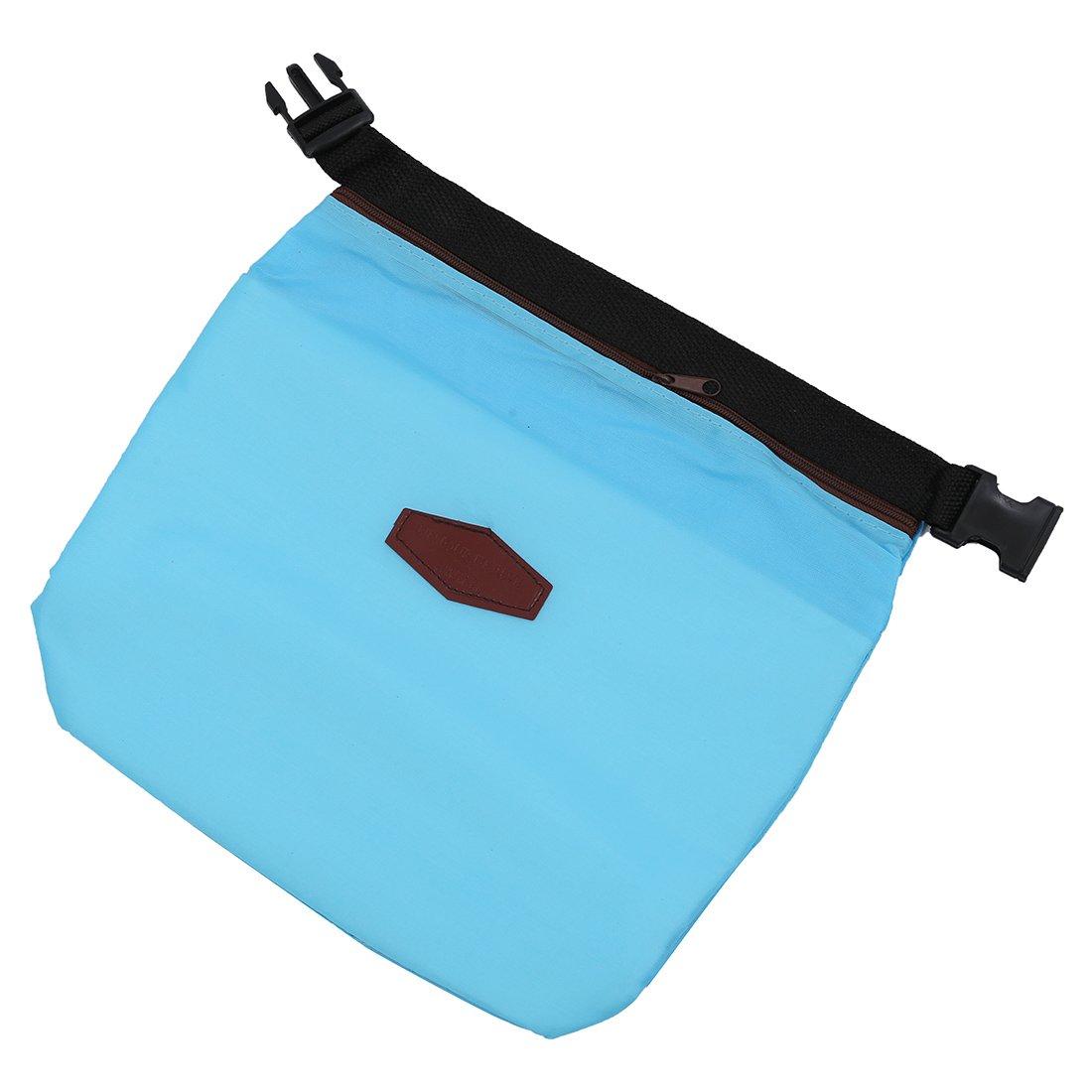 Sonline termica di raffreddamento isolati portatile impermeabile Lunch Box bagagli Picnic Bag Pouch - blu