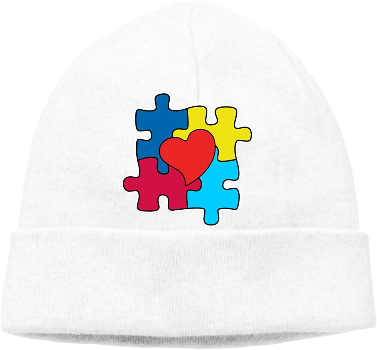 Beanie Hat Puzzle Autism Awareness Warm Skull Caps for Men and Women