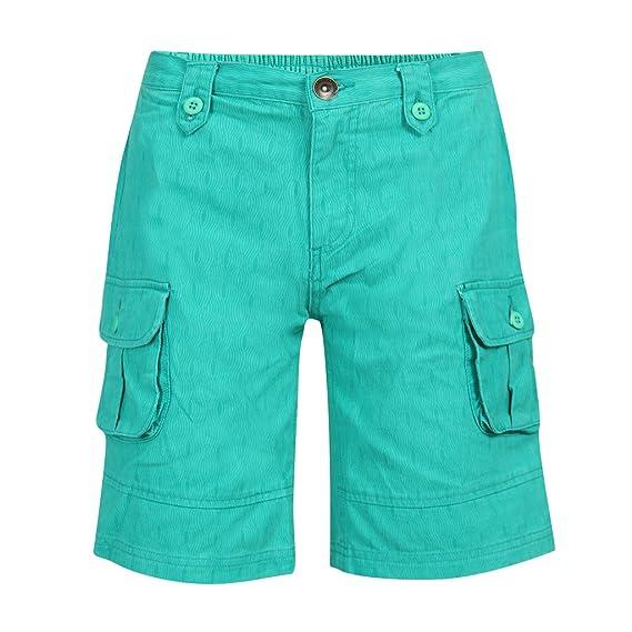 Buy Slub Junior Boys Capris(SJWC000020A-13-14Y_Green_13-14Y) at Amazon.in