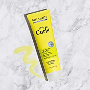 Marc Anthony Strictly Curls Curl Defining Styling Lotion, 8.3 Ounce Tube with Silk Protein and Vitamin E for Curl Definition (Tamaño: Curl Defining Lotion)