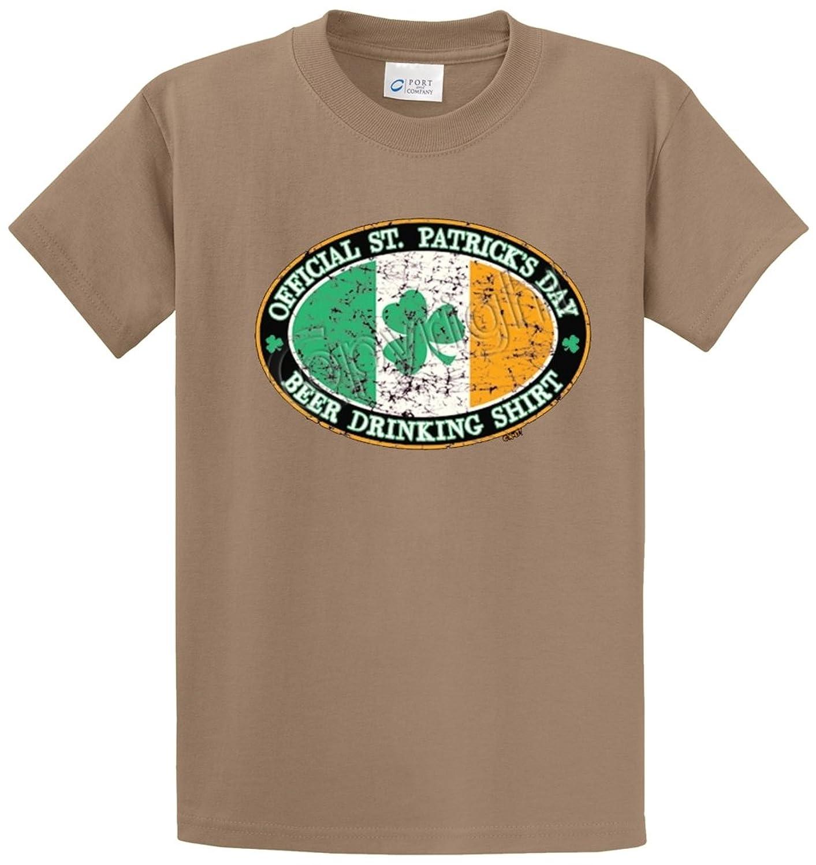 OFFICIAL BEER DRINKING SHIRT Printed Tee Shirt