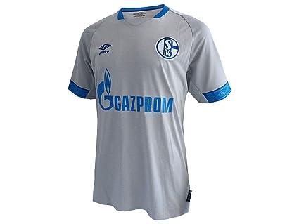 low priced 08ca0 33980 Amazon.com : Umbro FC Schalke 04 Away Jersey 2018/2019 - L ...
