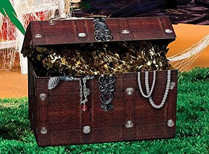 Amazon Com 19 In Pirate S Treasure Chest Standup Photo Booth Prop