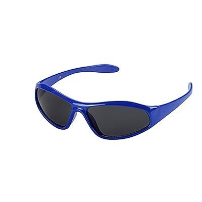 Lunettes Vélo Enfant Fille Blue Enfant Protection UV Filtre Lentilles 3741 Fumées