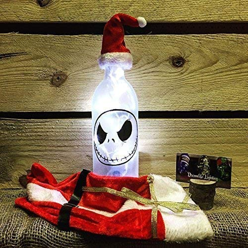 - Jack Skellington Bottle Light - The Nightmare before Christmas