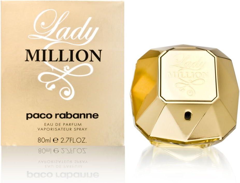 Paco Rabanne Lady Million Agua de perfume Vaporizador 80 ml