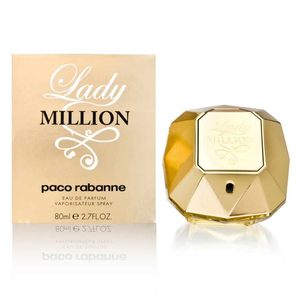 Lady Million by Paco Rabanne 2.7 oz Eau de Parfum Spray by Paco Rabanne