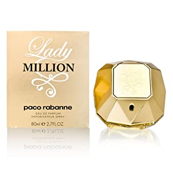 7e43b4aaf Amazon.com : Lady Million by Paco Rabanne 2.7 oz Eau de Parfum Spray :  Beauty