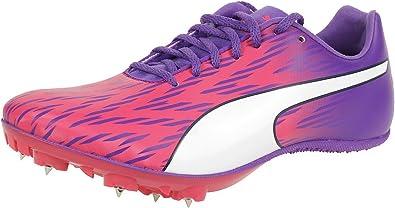 Puma Evospeed Sprint 7 Wn, Zapatillas de Running Mujer, Rosa (Sparkling Cosmo-electric Purple-ecowhite), 42.5 EU: Amazon.es: Zapatos y complementos