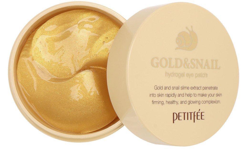 Gold & Snail Hydrogel Eye Patch (60 pcs) by Petitfee
