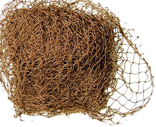 4' X 5' Knotted Ghillie Netting (Brown)