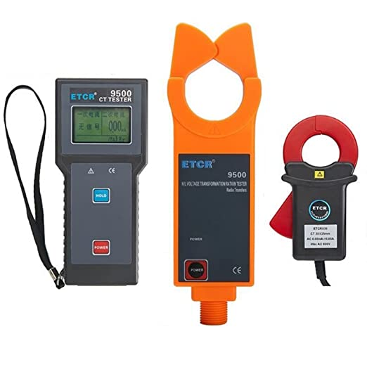 Spannungsprüfer & Zubehör Test & Messung Drahtlose Stromwandler-Verhältnisprüfausrüstung der Hochspannung ETCR9500