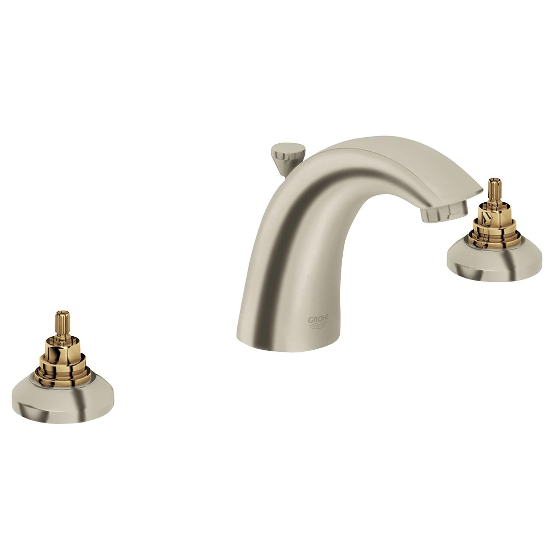 Widespread 2 Handle Bathroom Faucet   1.5 GPM   Bathroom Sink Faucets    Amazon.com