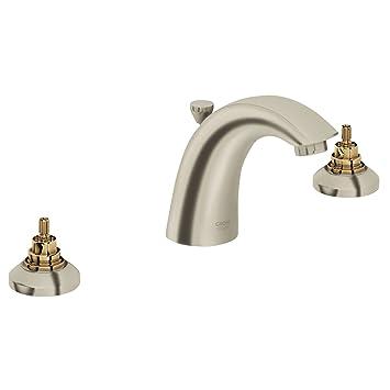 Widespread 2 Handle Bathroom Faucet   1.5 GPM