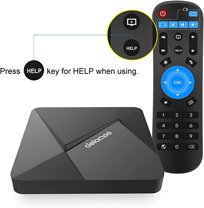 Amazon Com Edal D5 Android 6 0 Tv Box Rockchip Rk3229 Quad Core Cortex A7 1 5ghz 32bit Cpu With 2g Ddr3 8g Rom Support 4k Ultra Hd Dlna Computers Accessories