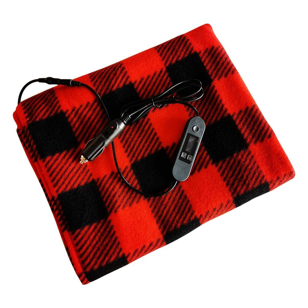 12V Electric Blanket Heated Blanket Smart Multifunctional Intelligent Temperature Control Car Truck Timing Electric Blanket