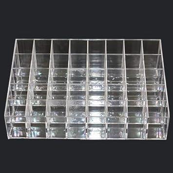 Heaviesk Cosmetic - Caja de Almacenamiento para pintalabios (plástico, 40 agarres): Amazon.es: Electrónica
