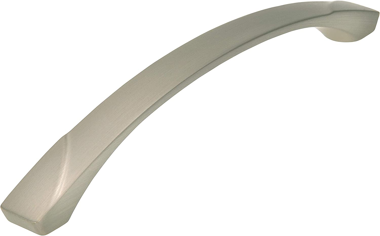 LA 160 mm Design Modern 188 mm x 29 mm x 17 mm Druckguss edelstahleffekt SIRO M/öbelgriff Kenzingen 2414-188ZN27