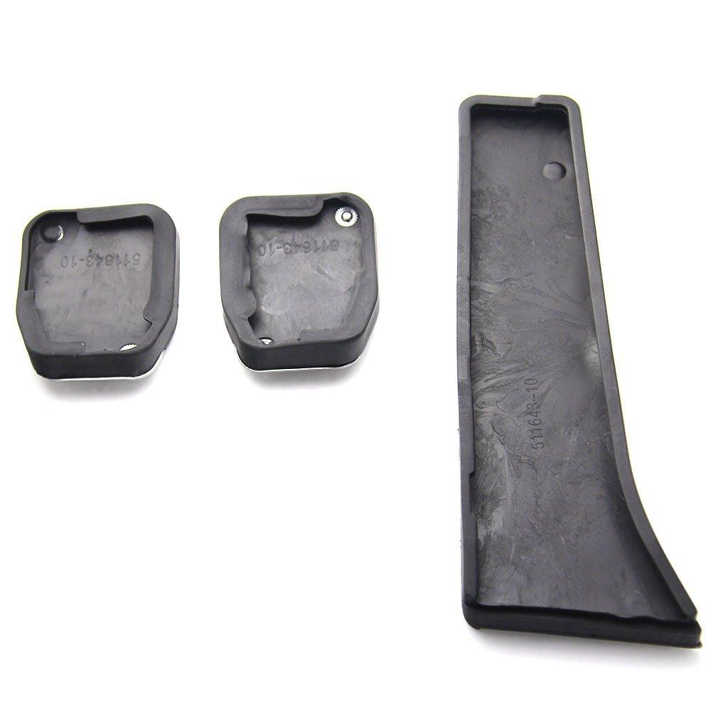 Dsport Sport Pedal Cover Kit for BMW M2 E87 M3 F80 E46 E90 E92 E93 M4 F82 F83 M5 F10 F11 E60 E61 M6 F12 F13 E63 E64 Manual DY